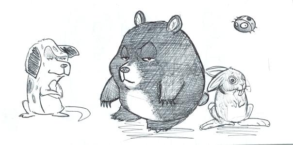 El oso maloso y su banda de rufianes