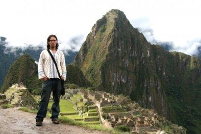 En Machu Pichu