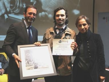 Entrega del Premio Alemán de Periodismo Walter Reuter 2014 con Carmen Aristegui