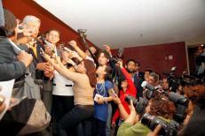 Cubriendo la campaña presidencial de Andrés Manuel López Obrador en 2012