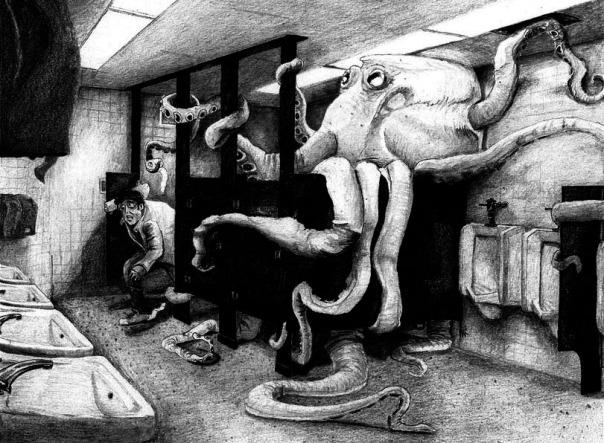 bathroom-squid