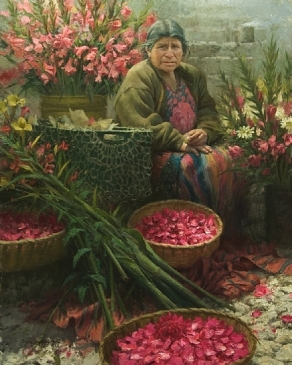 flowers-market-queen-chichicastengo