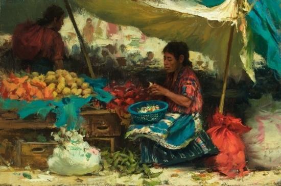 the-vegetable-seller