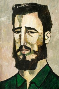 Fidel, por Guayasamin