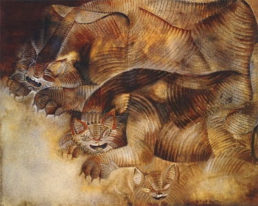 francisco-toledo-gatos